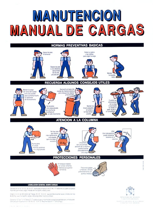 Manipulaci n manual de cargas amelie calot blog for Oficina proteccion datos