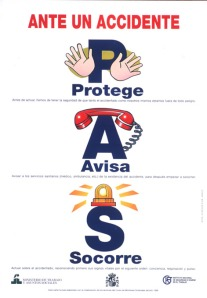 Primeros Auxilios: Activar Sistema PAS